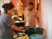 Under dit ophold som frivillig bor du hos en lokal værtsfamilie