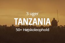 Højskole i udlandet for ældre - rejs med på seniorhøjskole i Tanzania