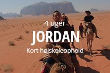 Kort 4 ugers højskoleophold i Jordan med frivilligt arbejde