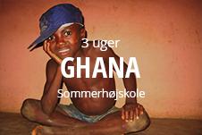 Sommerhøjskole i Ghana med fokus på sundhedssektoren globalt