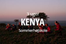 Sommerhøjskole i Kenya - kombiner højskole med at rejse i din sommerferie
