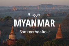 Sommerhøjskole i udlandet - rejs på 3 ugers højskole i Myanmar i din sommerferie