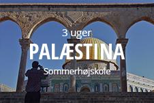 Sommerhøjskole i Palæstina - kom bag om konflikten på 3 ugers sommerhøjskole i Mellemøsten