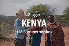 Højskole i udlandet for unge under 18 år - højskoleophold i Kenya